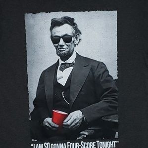 JEM Collective Graphic T Shirt - A. Lincoln
